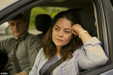 Sarah Greene and Paul Mescal in Normal People.