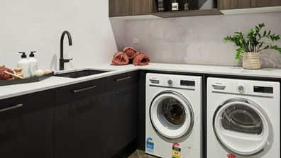 Inspiration and ideas for a laundry room makeover