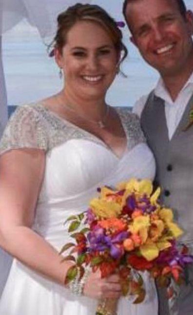 Beth Azzopardi Healthy Mummy wedding day