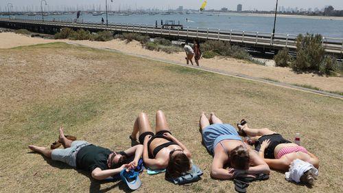 Australia weather conditions heat