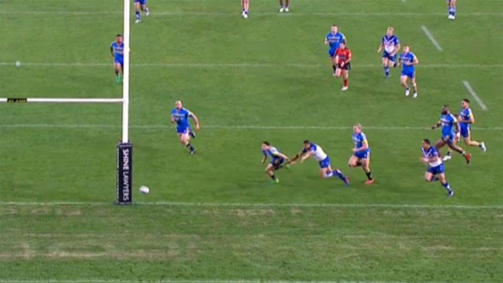 Canterbury Bulldogs lucky to escape penalty try call in loss to Parramatta Eels