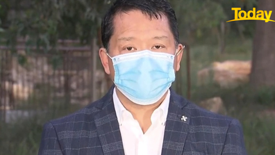 Dr Moy hopes a 'hard and fast' response  to the cases is enough to prevent a second wave.