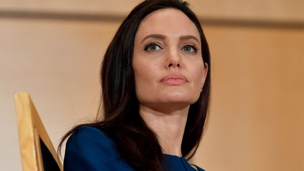 Angelina Jolie talked to Elle France about her mother's influence on her own parenting style. Image: Getty
