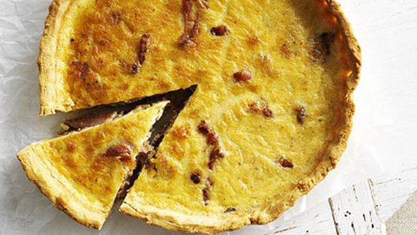 Gluten-free quiche lorraine