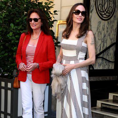 Angelina Jolie and Jacqueline Bisset