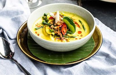 "Recipe:&nbsp;<a href=""http://kitchen.nine.com.au/2016/07/20/13/21/bali-kenus-soup"" target=""_top"" draggable=""false"">Bali Kenus yellow curry seafood soup</a>"