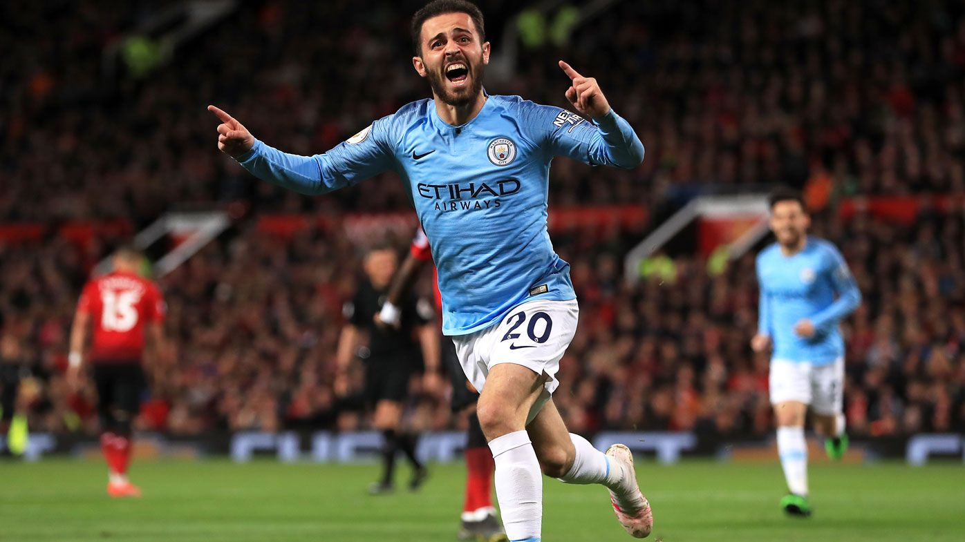 Man City down rivals United, keep eye on EPL title race