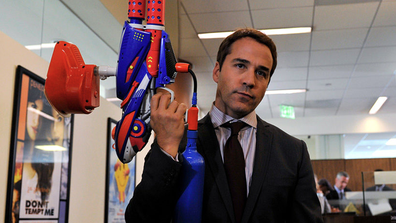 Piven played the character of  Ari Gould, a Hollywood agent based on Ari Emanuel, Mark Wahlberg's actual agent.