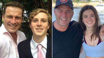 Karl Stefanovic, children, son Jackson, daughter Ava, Instagram photo