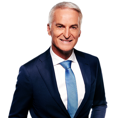 9News Brisbane presenter Andrew Lofthouse