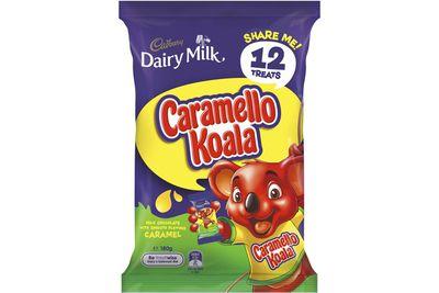 Caramello Koala: A little over 2 teaspoons of sugar