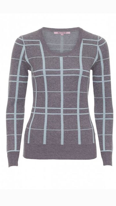 "<a _tmplitem=""13"" href=""http://www.review-australia.com/shop/knitwear/nessa-jumper-grey-mint.html""> Nessa Check Jumper, $139.99, Review</a>"
