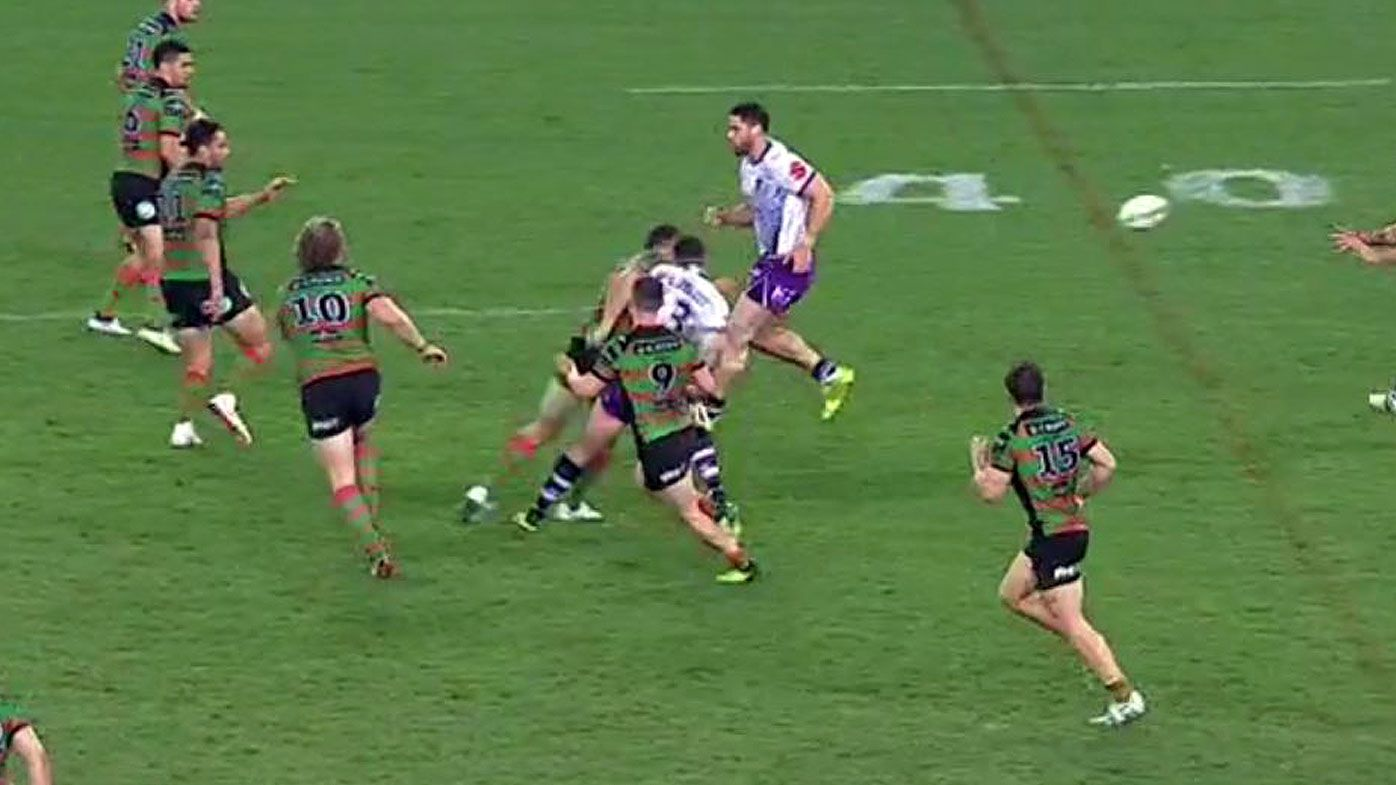 Burgess shoulder charge