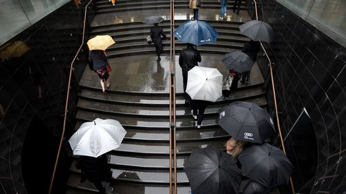 Rain started on Wednesday in Sydney, with wet weather continuing and more forecast.
