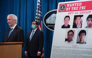 US charges five Chinese citizens in global hacking campaign