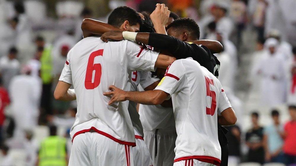 UAE players.