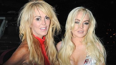 Lindsay's mother, 'the original momager' Dina Lohan