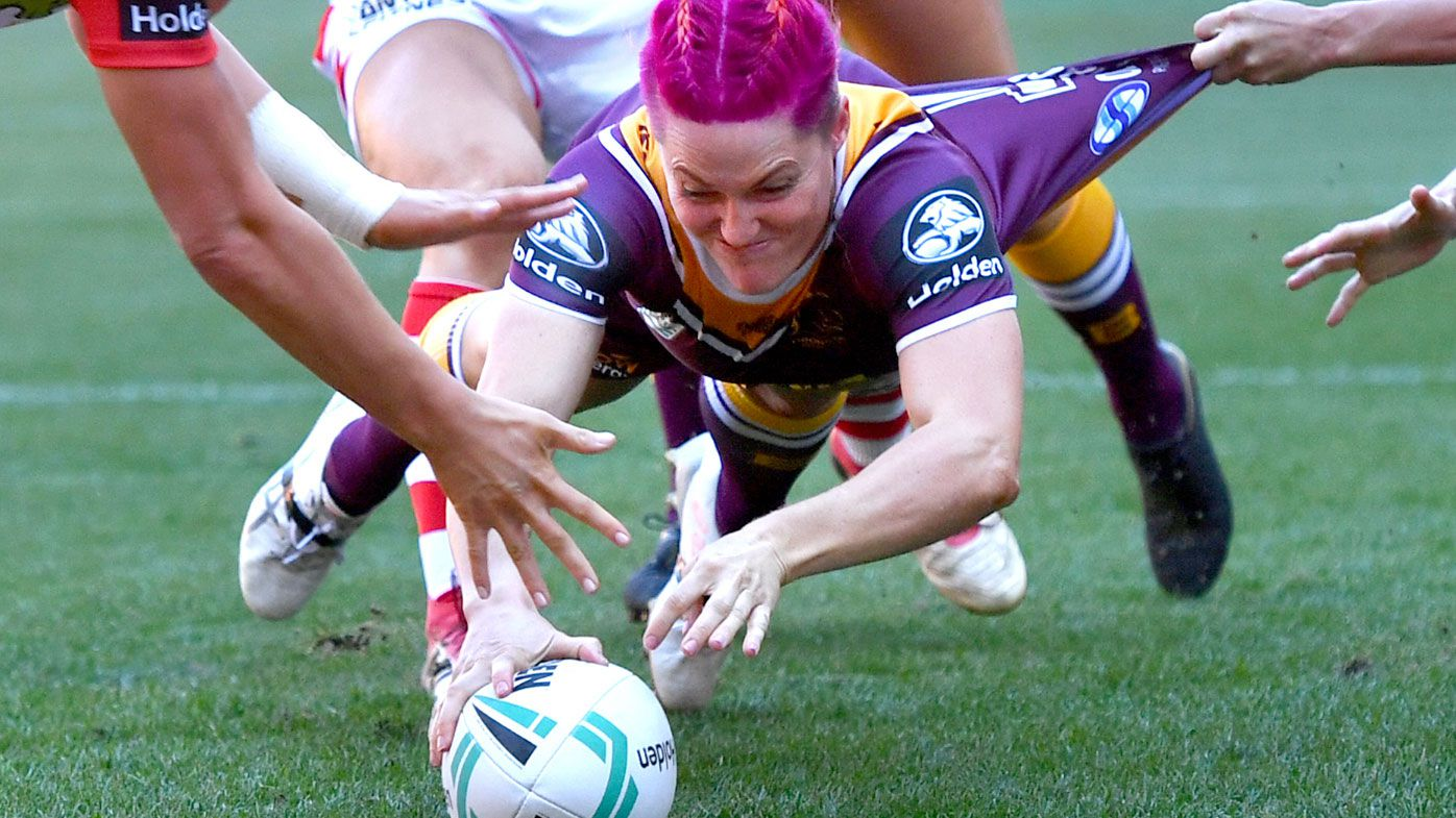 Chelsea Baker stars as Brisbane Broncos defeat St George Illawarra in NRLW clash