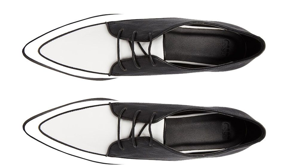 Mallory Creeper Lace Up Shoes, $59.30, ASOS