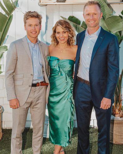 Full House star, Candace Cameron Bure,  husband Valerie Bure, son Lev Bure