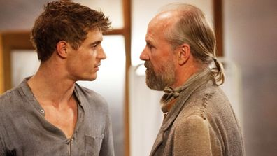 The Host movie Max Irons William Hurt