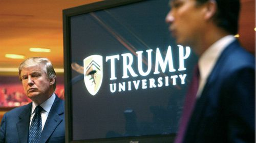 Trump says he would have fought uni fraud lawsuit were it not for presidency