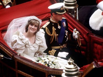 Princess Diana and Prince Charles, 1981