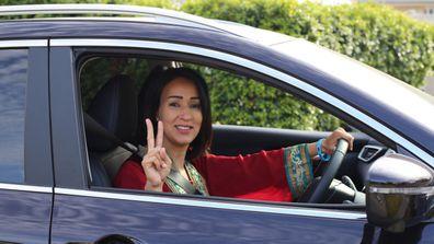 Manal al sharif driving photo
