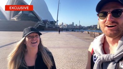 Exclusive: Melissa and Bryce go sightseeing in Sydney