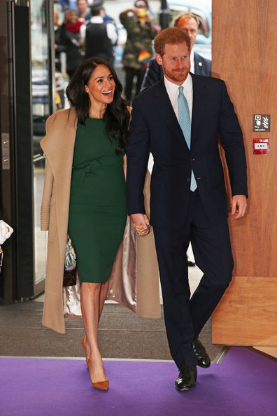 The Duke and Duchess of Sussex arrive for the annual WellChild Awards