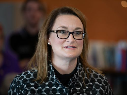 The Labor candidate also said that the victory in Braddon, as well as in Longman, Perth and Fremantle where the ALP also had wins, has sent a message to Prime Minister Malcolm Turnbull. Picture: AAP.