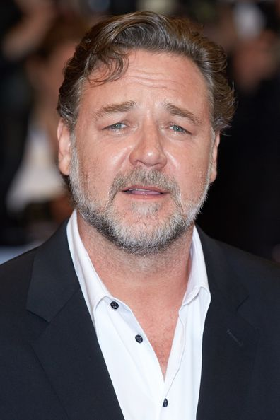 """Russell Crowe attends the screening of """"The Nice Guys"""" at the annual 69th Cannes Film Festival at Palais des Festivals on May 15, 2016 in Cannes, France."""