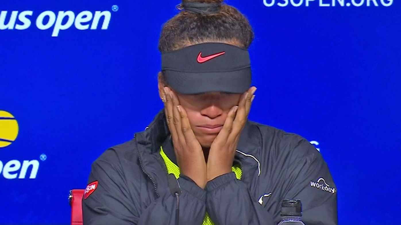 Why it 'makes sense' for Naomi Osaka to take a break from tennis after emotional US Open breakdown
