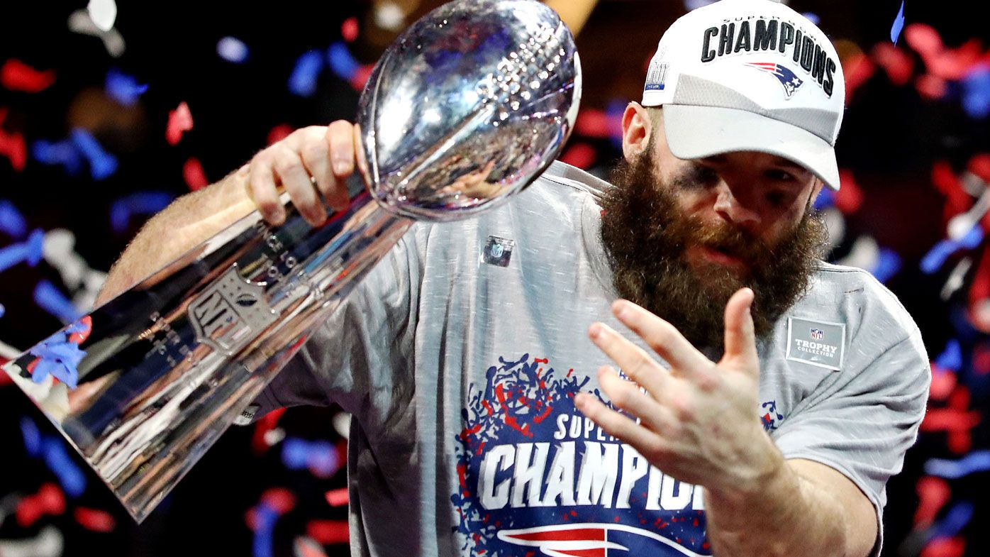 2ac9ff66019 Super Bowl  Julian Edelman becomes only the second New England Patriot not  named Tom Brady