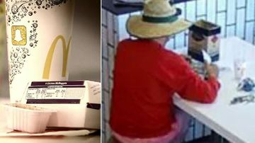 Sex offender filmed kids using camera hidden in fast food boxes