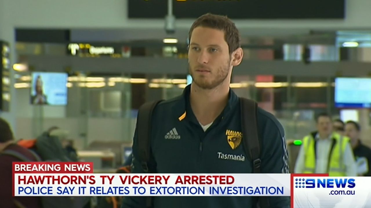 Ty Vickery arrested in Melbourne