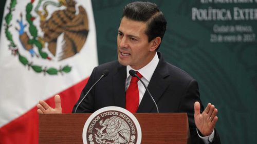 Mexican president condemns US President Donald Trump's wall plan