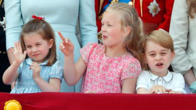 Princess Charlotte at Trooping the Colour, June 2018