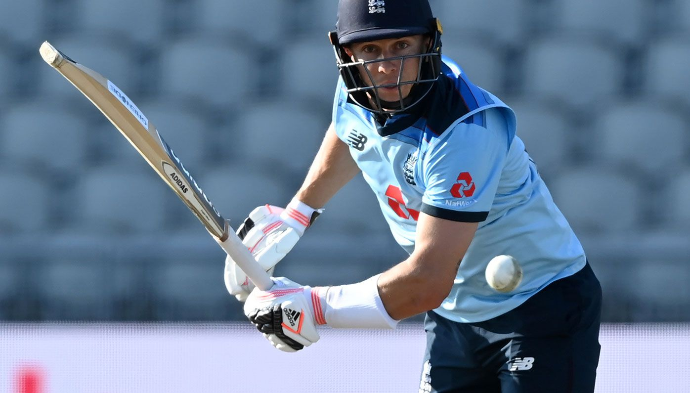 Tom Curran in action for England.