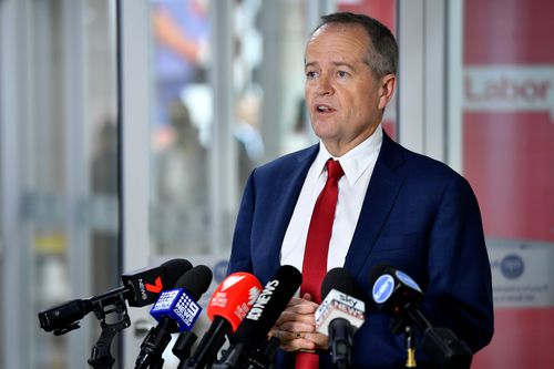 Labor leads the coalition by just five percentage points in the two-party preferred stakes according to the poll.