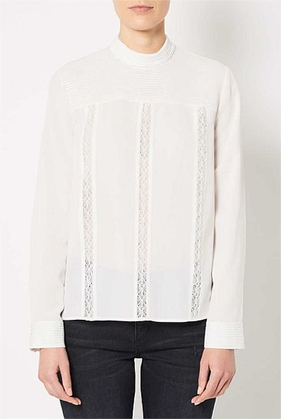 """<a href=""""https://www.witchery.com.au/shop/woman/clothing/tops/60211137/Pin-Tuck-Blouse.html"""" target=""""_blank"""">Witchery</a> pin tuck blouse $129.95<br>"""