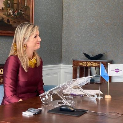 Queen Máxima opens money conference, March 2021
