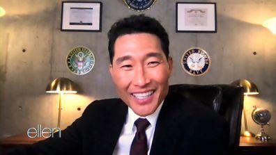 Daniel Dae Kim talks about his family with Ellen DeGeneres