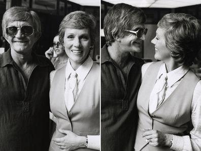 Julie Andrews and husband Blake Edwards