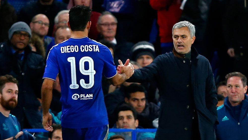 Football: Mourinho off the hook as Chelsea cruise into last 16