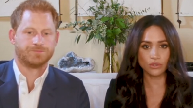 Harry and Meghan talk about the impact of social media during TIME100 virtual event
