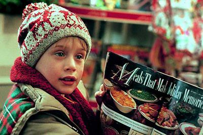 If ever there was a Christmas crowd-pleaser, this is it. Eight-year-old Kevin (Macauley Culkin at his cutest) is accidentally left home alone by his big family as they embark on a trip to Paris. It's all fun and games for a bit, until two bumbling intruders attempt to break into his house. They have no idea who they're messing with ...