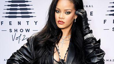 Rihanna at the Savage X Fenty Show Vol. 2 show 2020