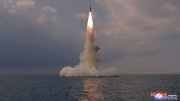 North Korea announced Wednesday, Oct. 20, 2021 that it had tested a newly developed missile designed to be launched from a submarine.