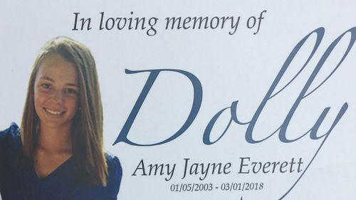 """Dolly is being remembered as a """"kind and gentle"""" little girl. (Supplied)"""